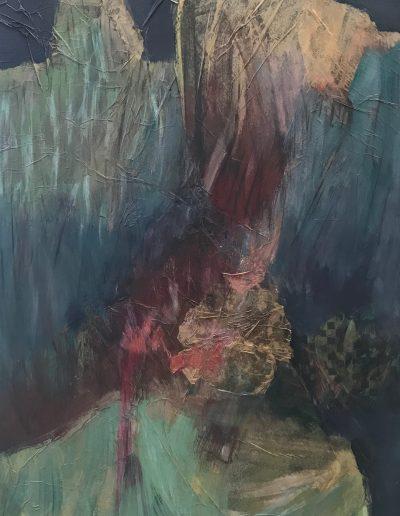 Skyline, acrylic on canvas