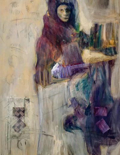 The Conjuror, acrylic on canvas