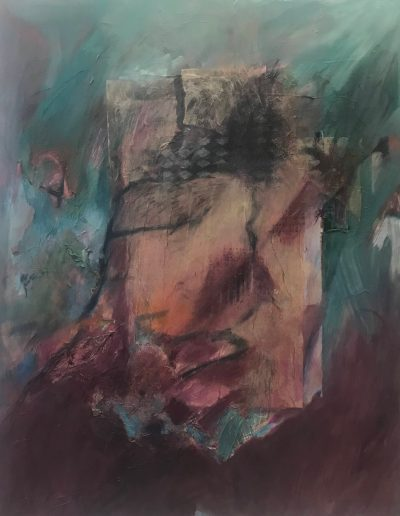 Gathering Impetus, acrylic on canvas